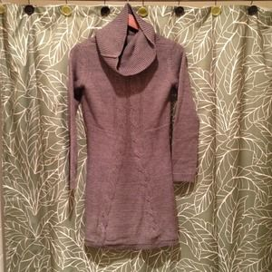 Dresses & Skirts - Cowl neck sweater dress - extra small