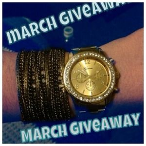 March Giveaway!!!! Watch