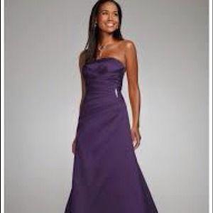Purple Wedding Dresses David's Bridal