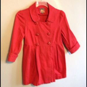Candy apple red jacket