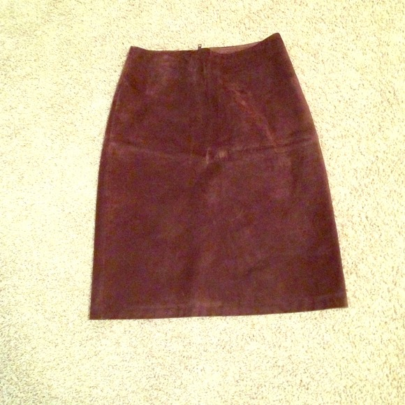 83 gap dresses skirts chocolate brown real sued
