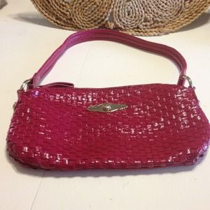 Elliot Lucca hot pink leather bag
