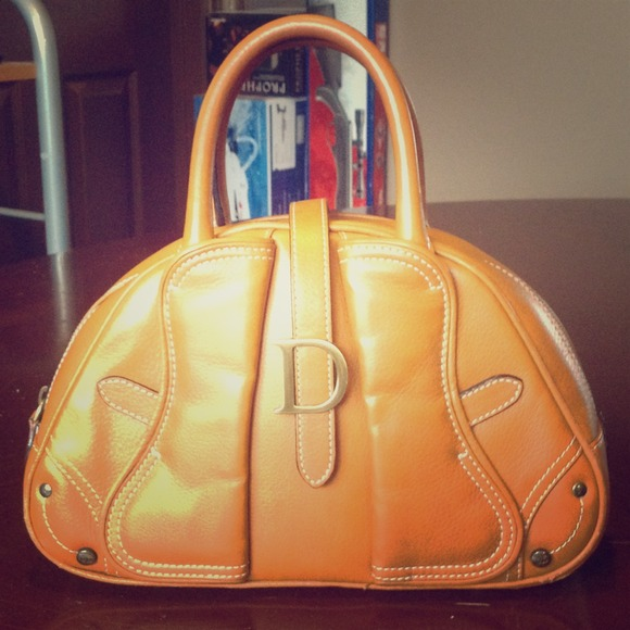 61% off Dior Handbags - Leather Christian Dior Double