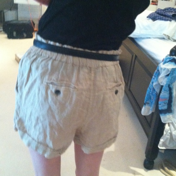 Forever 21 - 💝💝 REDUCED 💝💝 High waisted tan shorts from N's ...
