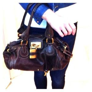 Chloé Paddington. Buttery brown leather, perfect.