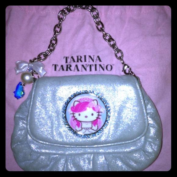 de3e04375 Tarina Tarantino Bags | Hello Kitty Pinkhead Bride Purse | Poshmark