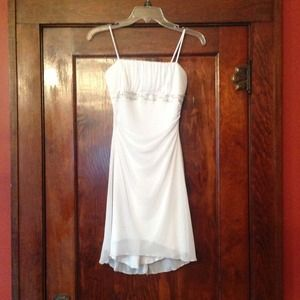 Little white spring dress