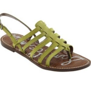 Sam Edelman Green Sandals