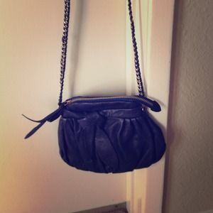Reduced!! Navy blue Junior Drake cross body purse