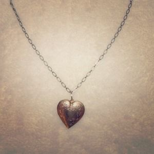 Jewelry - Heart Locket Necklace