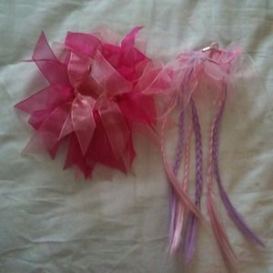 Super Cute Pink Hair Accessory Bundle