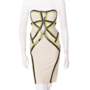 BNWT Authentic Herve Leger Bandage Dress Size XS