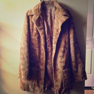 Furry Reversible Coat