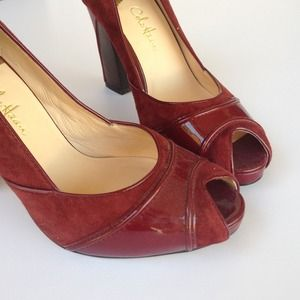 Cole Haan Air Peep Toe Pumps