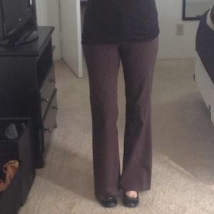 REDUCED!! Chocolate Brown Dress Pants