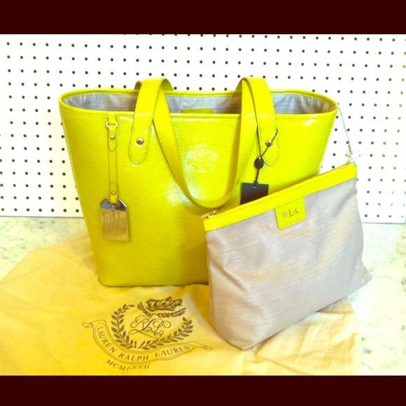 e8d621d209 Ralph lauren newton classic tote bag. NWT
