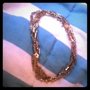 Gold Charm Bracelet Or Necklace ?