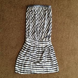 cool change Dresses & Skirts - Awesome summery tube dress w/ sequined accent