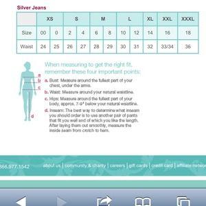 Pandora - Size Chart! from Hailee's closet on Poshmark