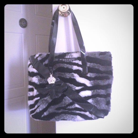 My Flat in London Bags   Fur Handbag   Poshmark 9936c6f5d5