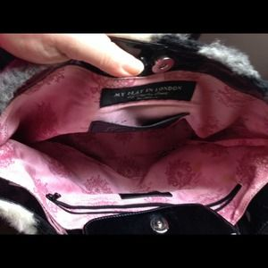 My Flat in London Bags - My Flat in London fur handbag. 4d3f287279