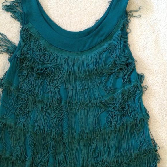 h m flapper style dress length