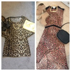 Dresses & Skirts - 🐯 Reserved Leopard-Print Bundle 🐯