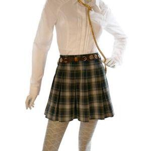 Vintage 1980's Plaid Skirt