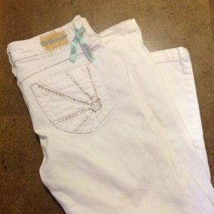 Dollhouse white jeans