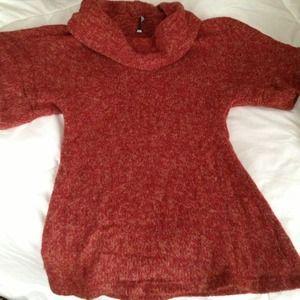 Wide neck sweater- lightweight