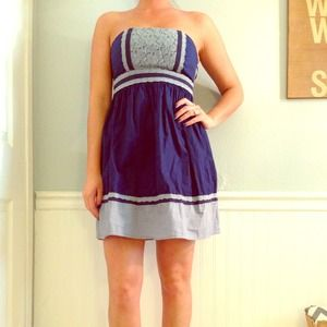 UO dress with lace detail