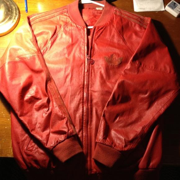 adidas superstar vintage rosse