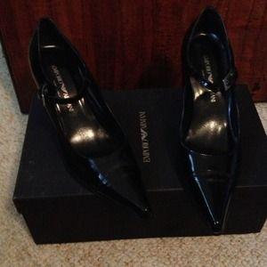 MarkdownAuthentic Emporio Armani shoes.