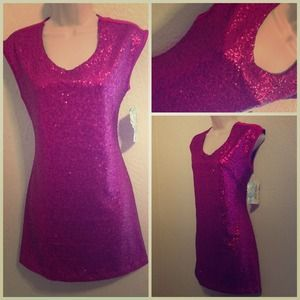 Dresses & Skirts - sequin Party Dress/Tunic💖