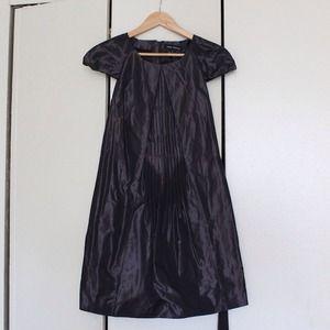 ⚡Reduced⚡Metallic Dark brown dress