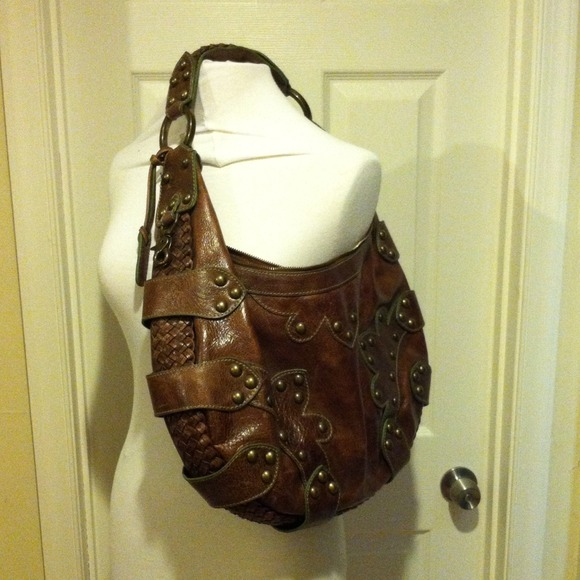 c79dd2efc4 Isabella Fiore Bags | Authentic Leather Oasis Hobo Bag | Poshmark