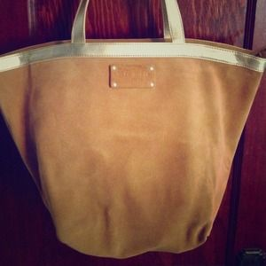 Kate spade suede large tote