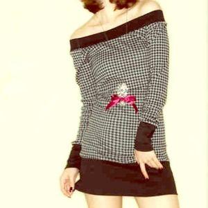 🔴SOLD🔴 (NWOT)🎀 Gorgeous Mini Dress/Top