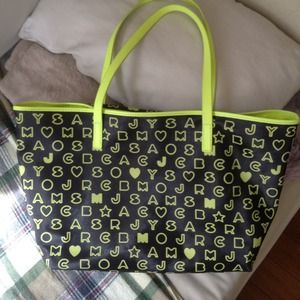Marc Jacob neon yellow bag
