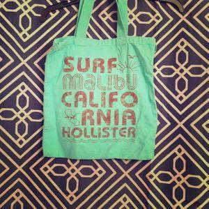 Teal Hollister bag