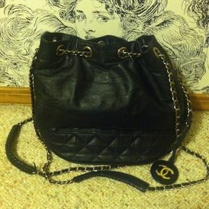 Authentic Vintage Chanel Bag.