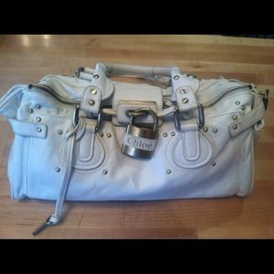 CHLOE PADDINGTON LEATHER BAG 26883 NEW!