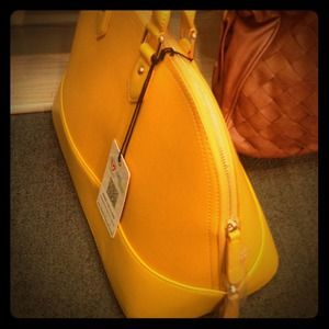 Mustard Yellow Handbag