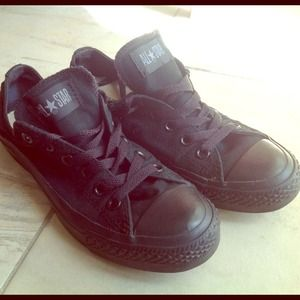 All-Black Converse