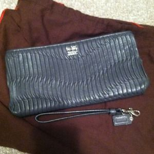 Coach Madison leather clutch from store not outlet