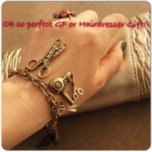 Jewelry - 🎈🎈NWT Hair Stylist Beauty Bracelet.
