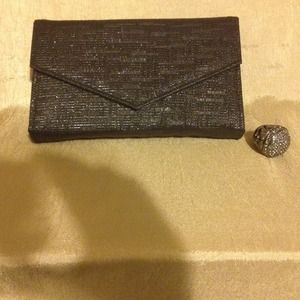 Handbags - Black Sparkle Evening Purse