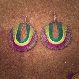 Jewelry - Brand New** Colorful hanging earrings