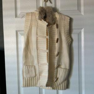 Old Navy Fuzzy Vest