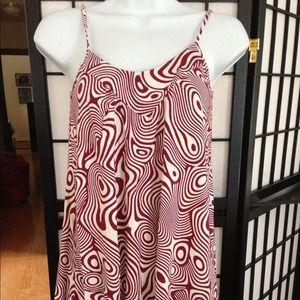 Flowy tribal cotton dress